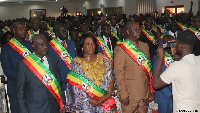 Inauguration Parlament Guinea-Bissau (DW/B. Darame)