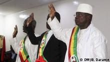 Discretion: Photos of the inauguration of the new Parliament of Guinea-Bissau Location: Bissau Author: Braima Darame, DW Date: 18.04.219 Keyword: Deputies of Guinea-Bissau