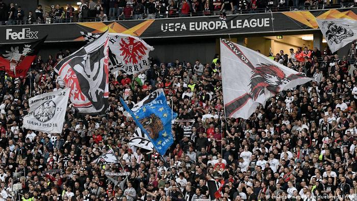 Fußball UEFA Europa League   Eintracht Frankfurt - Benfica Lissabon   Fans