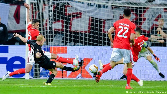 Fußball UEFA Europa League | Eintracht Frankfurt - Benfica Lissabon | Torj (2:0)