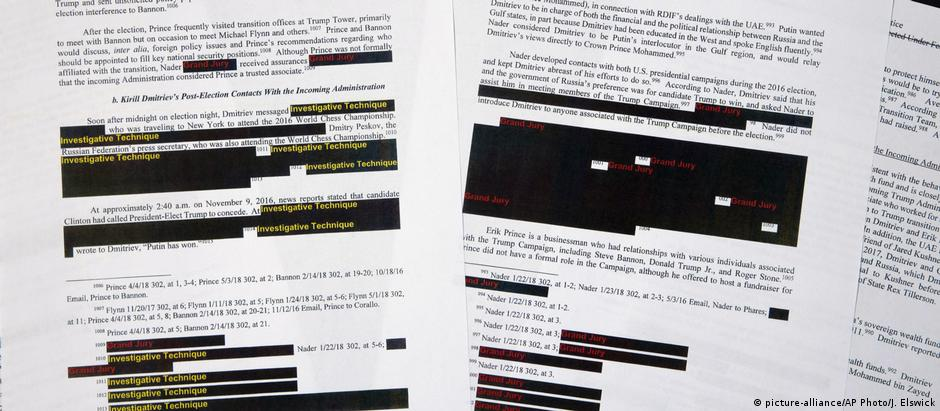 Redacted copy of the Mueller report