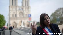 Frankreich Anne Hidalgo in Paris (picture-alliance/abaca/R. Lafargue)