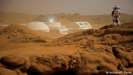 BDTD China Gobi Wüste C-Space Mars Simulation Projekt (Reuters/T. Peter)