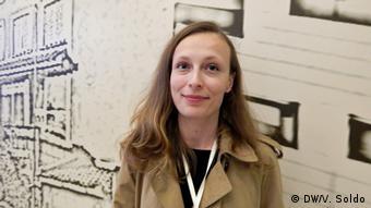 Mostar Ausstellung Westbalkan Gleichstellung der Geschlechter Tamara Tokic (DW/V. Soldo)