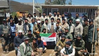 حجتالاسلام هاشم الحیدری از رهبران جنبش النجباء عراق در پلدختر