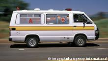Südafrika Krankenwagen Symbolbild