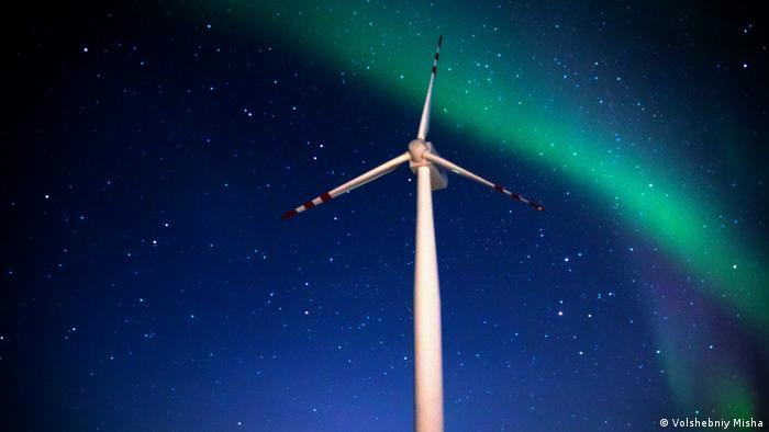 Wind power turbine in the Arctic