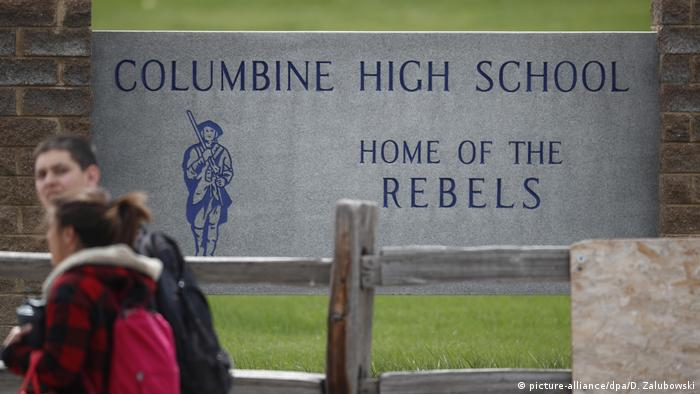 Littleton Columbine Highschool 2019 (picture-alliance/dpa/D. Zalubowski)