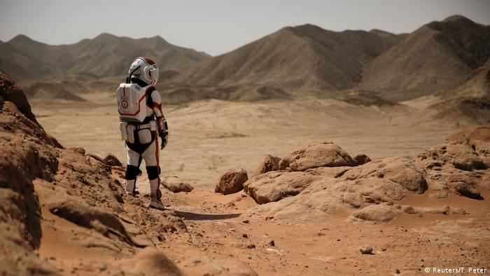 China Gobi Wüste C-Space Mars Simulation Projekt (Reuters/T. Peter)