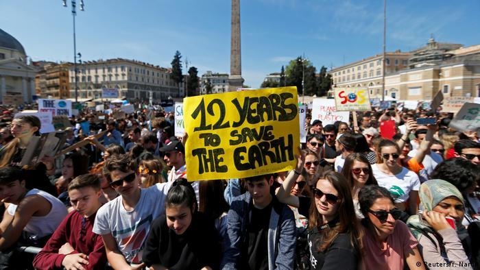 Klimaprotest | Rom | Greta Thunberg