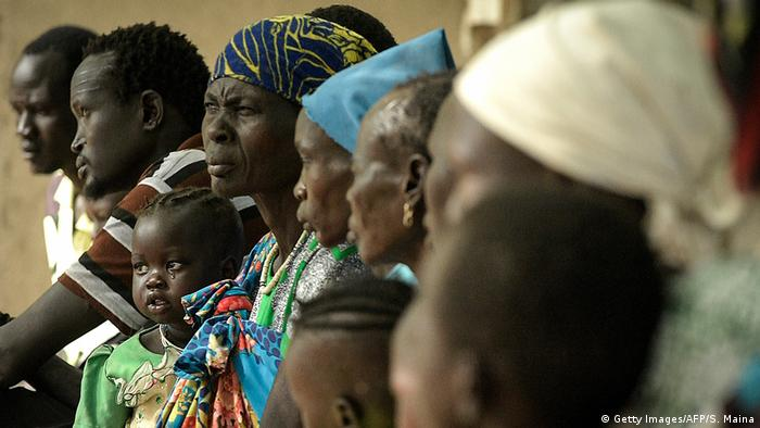 Sudan Malaria-Patienten in Udier