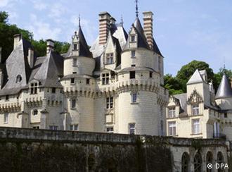 Замок Уссэ (Château d'Ussé) во Франции
