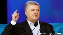 Ukraine Präsidentschaftswahl 2019 | Debatte - Poroschenko vs. Selenskyj