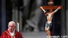 Vatikanstadt Ostern 2019 | Kreuzweg Kolosseum | Papst Franziskus