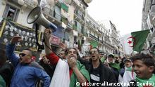 Algerien, Algier: Erneute Proteste gegen die Regierung
