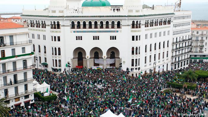 Протесты в Алжире, 19 апреля 2019 года