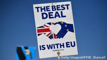 Symbolbild - Brexit und EU (Getty Images/AFP/B. Stansall)