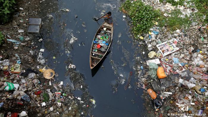 Пластиковый мусор в Бангладеше