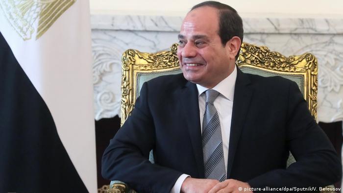 Ägypten Präsident Abdel Fattah al Sisi (picture-alliance/dpa/Sputnik/V. Belousov)