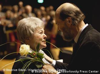 Марина Ходорковская на премьере Ангельской симфонии