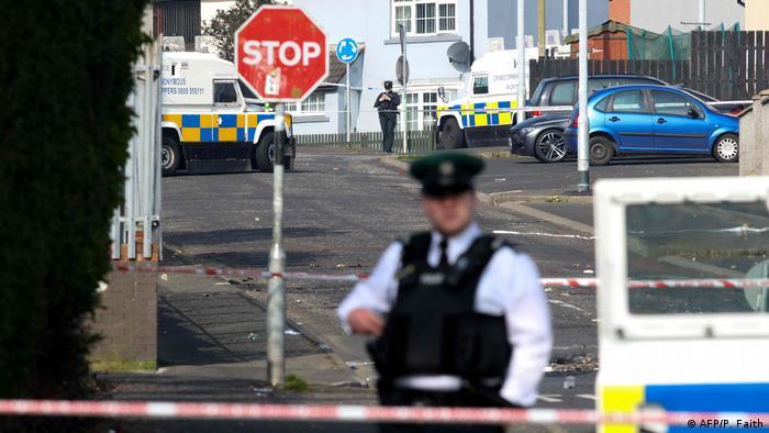 Nordirland Londonderry Tatort Tod Lyra McKee (AFP/P. Faith)