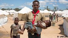 Kinder in Mosambik nach Idai Ziklon brauchen Hilfe