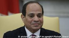 Ägypten Präsident Abdel Fattah el-Sisi Abdel Fattah al-Sisi