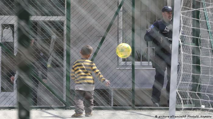 вернувшиеся в Косово дети