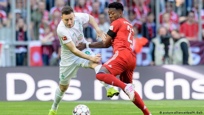 1. Bundesliga | FC Bayern München - Werder Bremen (picture-alliance/dpa/M. Balk)