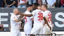 Fußball: Bundesliga | FC Augsburg - VfB Stuttgart (picture-alliance/dpa/GES/E. Geuppert)