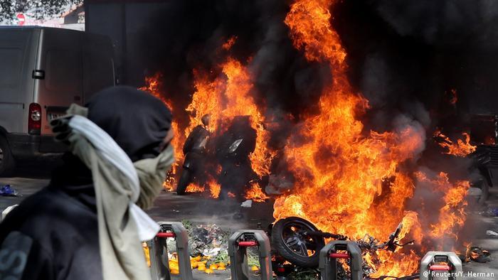 Frankreich 23. Gelbwesten Protesttag in Paris (Reuters/Y. Herman)