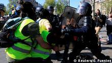 Frankreich 23. Gelbwesten Protesttag in Paris