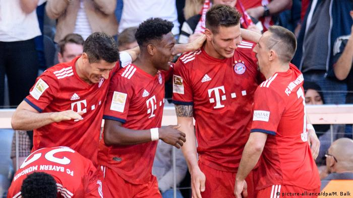 Bundesliga: Bayern Munich turn the screw in a reminder of champions past