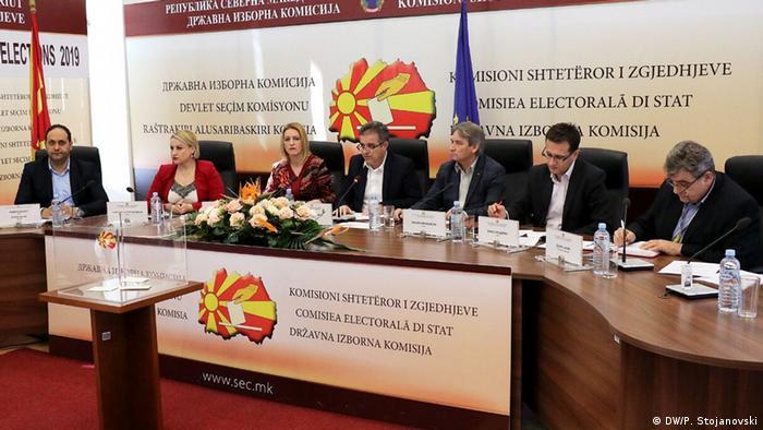 Nord-Mazedonien Präsidentschaftswahlen - Blerim Reka (DW/P. Stojanovski)
