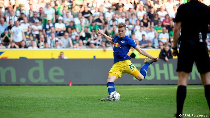 1. Bundesliga | Borussia Mönchengladbach - RB Leipzig | Tor (0:1) (AFP/I. Fassbender)