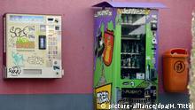 Deutschland Legaler Cannabis-Automat in Trier