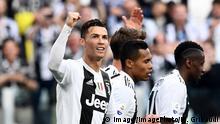 Fußball, Juventus Turin - AC Florenz Mg Torino 20/04/2019 - campionato di calcio serie A / Juventus-Fiorentina / foto Matteo Gribaudi/Image nella foto: Cristiano Ronaldo PUBLICATIONxNOTxINxITA