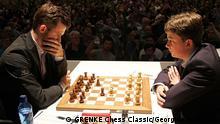 Deutschland Grenke Chess Classic 2019 | Magnus Carlsen gegen Vincent Keymer