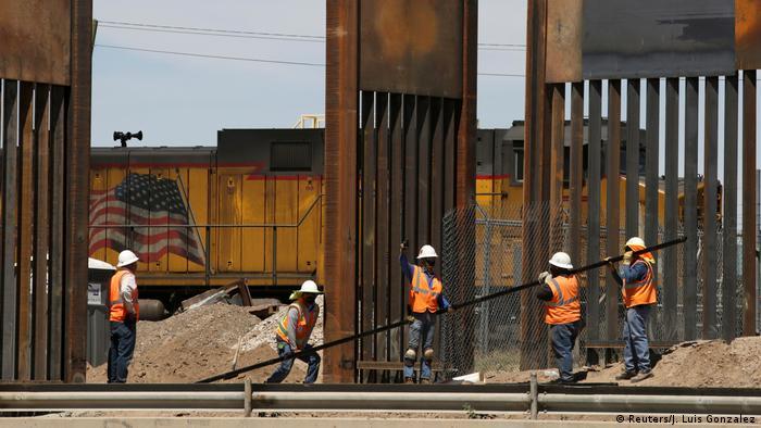 Symbolbild Grenze USA - Mexiko (Reuters/J. Luis Gonzalez)
