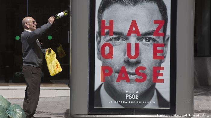 Spanien Wahl 2019 | Plakat Pedro Sanchez