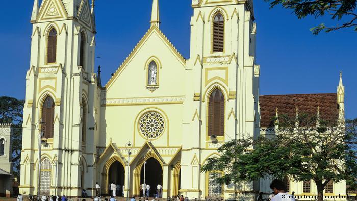Sri Lanka, St. Sebastian's Church in Negombo