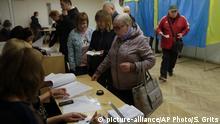 Ukraine Kiew Präsidentschaftswahl