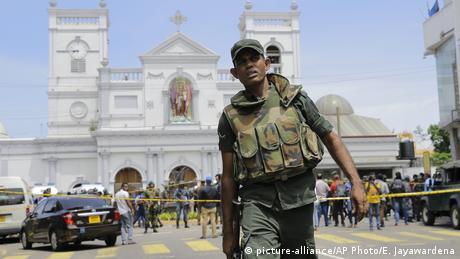 DW: Θλίψη και αποτροπιασμός για τις επιθέσεις στη Σρι Λάνκα