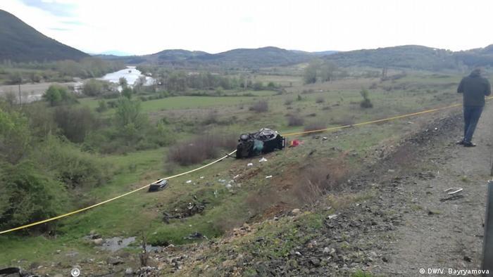 Bulgarien Kardzhali Unfall (DW/V. Bayryamova)