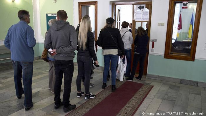 Голосування під час другого туру президентських виборів, 21 квітня 2019 року