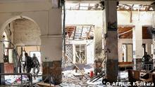 Sri Lanka Colombo Explosion in St. Anthony Kirche