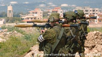 Στιγμιότυπο από παλαιότερη κοινή άσκηση ρωσικών και συριακών δυνάμεων