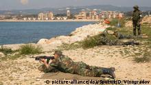 Syrien Gemeinsame russisch-syrische Militärübung in Tartus