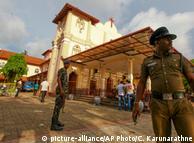 Sri Lanka sucht nach den Tätern