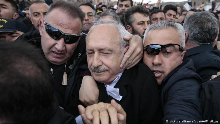 CHP lideri Kemal Kılıçdaroğlu Nisan 2019'da Ankara'nın Çubuk ilçesinde linç girişimi ile karşı karşıya kalmıştı